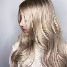 Neutral Blonde Hair, Medium Blonde Hair, Icy Blonde, Blonde Hair With Highlights, Ash Blonde Hair, Platinum Blonde Hair, Blonde Color, Blonde Balayage, White Blonde