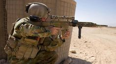 The basic gear of an Australian Army soldier
