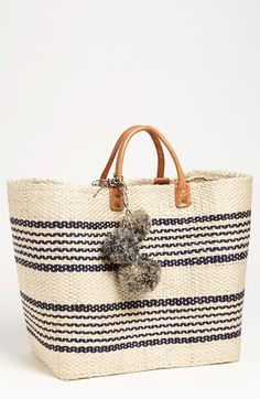 dd1c4b8e37e An eco-friendly tote woven from responsibly sourced agave leaves offers a  creative, handmade