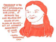 "lastnightsreading: "" Hanya Yanagihara at St. Joseph's College, 1/28/16 """