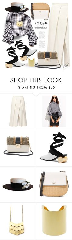 """Black and White"" by olga1402 ❤ liked on Polyvore featuring TIBI, Apt. 9, J.W. Anderson, Chanel and Kate Spade"