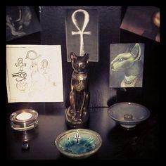 Bast, Isis and Hathor by AmandaMai92 on deviantART
