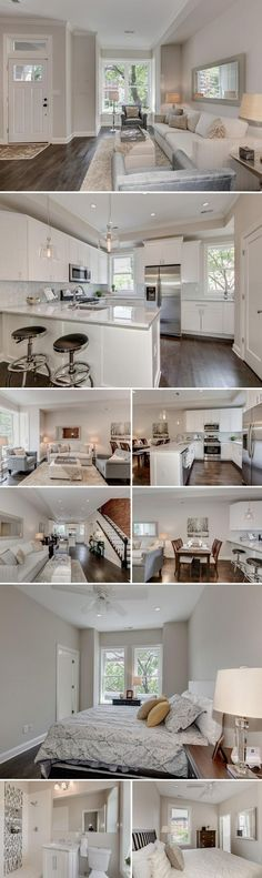 In the heart of the booming neighborhood Bloomingdale, a gut-job renovation turned this three-story Q Street rowhouse into a charming, updated home, with an open layout and three bedrooms. The overhaul introduces luxe touches such as dark-stained hardwood floors,...