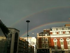 Double #rainbow in the city - by suzanne @suzi3fire