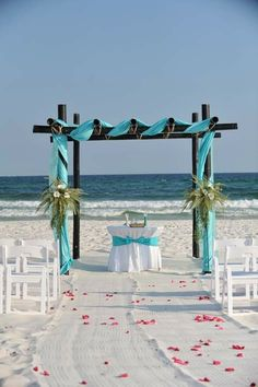 beach wedding ceremony ideas...www.texaspartypeople.com