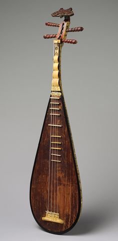Chinese Stringed Musical Instrument Guitar Lute Pipa http://www.interactchina.com/musical-instruments/