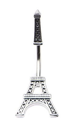 Eiffel Tower Paris Belly Button Ring Navel In and Out Split 316L 14G 7/16's Pierced Owl http://www.amazon.com/dp/B0125T7BP0/ref=cm_sw_r_pi_dp_gSpOwb1RD7510