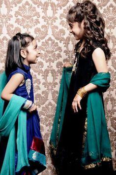 Zainab Chottani kids Eid Wear Dresses 2014