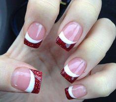 #nails #christmas uñas navideñas                                                                                                                                                                                 More