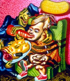 Jeffrey Dahmer by Peter Saul