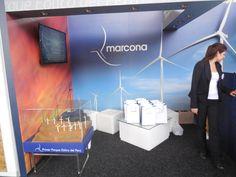 Pabellón Stands de Exhibición - Stand Marcona, primer parque eólico del Perú.