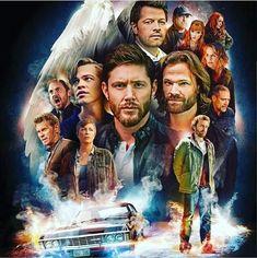 Supernatural Poster, Supernatural Pictures, Supernatural Fan Art, Supernatural Wallpaper, Castiel, Supernatural Impala, Supernatural Convention, Vampire Diaries, Tv Guide