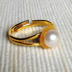 Little Pearl Ring One Size Pearl Ring, Wholesale Fashion, Gemstone Rings, Fashion Jewelry, Gemstones, Pearls, Trendy Fashion Jewelry, Gems, Gem