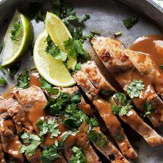 Mushroom Marsala Pork Tenderloin - quick and easy dinner, starting with easy pork tenderloin. Ready in less than 30 minutes! Easy Pork Tenderloin Recipes, Leftover Pork Tenderloin, Pork Recipes, Pork Loin, Roast Brisket, Game Recipes, Beef Tenderloin, Oven Recipes, Souvlaki Pork