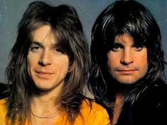 #RandyRhoads #OzzyOsbourne Heavy Metal Music, Heavy Metal Bands, Ozzy Osbourne Black Sabbath, Songs With Meaning, Gus G, Metal Horns, Black Label Society, Pretty Babe, Rock Artists