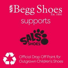 ❗Begg Shoes is delighted to be partnering with Sal's Shoes to support the wonderful work they are doing. 👌 We are now an official drop off point for outgrown children's shoes. Find out more here 👉  www.beggshoes.com/blog/support-sals-shoes/ The New School, New School Year, Commercial Street, School Shoes, Previous Year, Childrens Shoes, Men S Shoes, Shoe Shop, How To Find Out