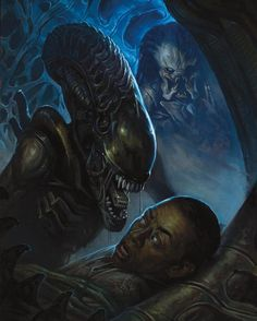 Alien Vs. Predator: Fire and Stone 2 Cover. #AlienvsPredatorFireandStone #FireandStone #LV223 #USCSSPrometheus #ChristopherSebela #ArielOlivetti #Horror #DarkHorseBooks #DarkHorseComics #Comics #Predator #PredatorClan #PredatorTribe #PredatorComics #Yautja #alien #YautjaTribe #SciFiHorror #AlienvsPredatorComics #Xenomorph #AlienvsPredator #AVP #AVPComics #ComicsDune