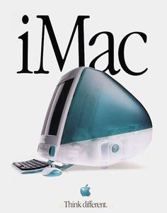 1998 nasce Imac il computer intregrato di Apple