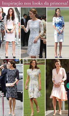 Casamento durante o dia: inspiração de vestidos lindos da princesa kate middleton para usar e arrasar em festas diurnas