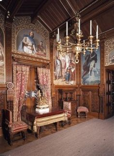 Neuschwanstein Castle Interior | neuschwanstein-castle-pictures-inside