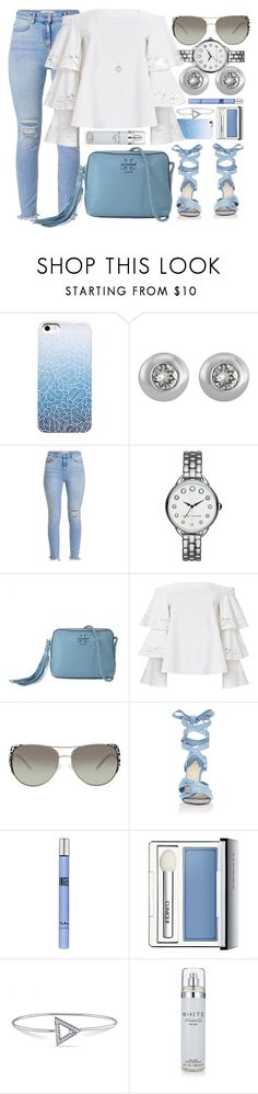 """""""Spring Bloom"""" by jomashop ❤ liked on Polyvore featuring Marc Jacobs, Tory Burch, Exclusive for Intermix, Michael Kors, Altuzarra, Thierry Mugler, Clinique, Versace 19•69, Kenneth Cole and Bulgari"""