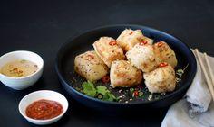 simmer & boyle: Salt and Pepper Silken Tofu with Szechuan Berries