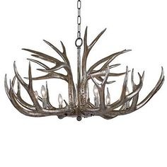 Redefine contemporary style with the Antler Chandelier from Regina Andrew Design. With an artist's eye, their assortment skillfully mixes modern with rustic, elegant with casual, romantic with relaxed. They have an eclectic vision that resonates with natural style.