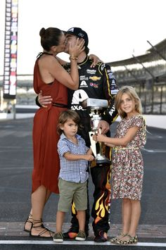 Jeff Gordon and family after his 90th career win!