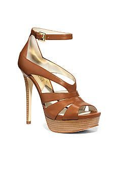 MICHAEL Michael Kors Leighton Ankle Strap Sandal #Belk #Women #Shoes; $184.95 at Nordstrom