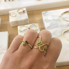 Paige Novick - The New York–based designer injects a playful, unexpected element to fine jewelry with 18K gold and diamond pieces that defy traditional shapes. From open oval earrings to curved rings, her collections always imbue modern sophistication. FYI: Her latest gemstone range is a sight to see.