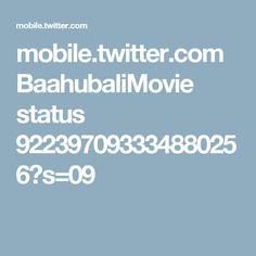 mobile.twitter.com BaahubaliMovie status 922397093334880256?s=09