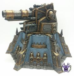 Vengeance Weapon Battery - Battle Cannon & Punisher Cannon #ChaoticColors #commissionpainting #paintingcommission #painting #miniatures #paintingminiatures #wargaming #Miniaturepainting #Tabletopgames #Wargaming #Scalemodel #Miniatures #art #creative #photooftheday #hobby #paintingwarhammer #Warhammerpainting #warhammer #wh #gamesworkshop #gw #Warhammer40k #Warhammer40000 #Wh40k #40K #terrain #scenery #Scifi #VengeanceWeaponBattery #battlecannon #punishercannon Warhammer Terrain, 40k Terrain, Wargaming Terrain, Anime Weapons, Warhammer 40k Miniatures, Warhammer 40000, Space Marine, Punisher, Cannon