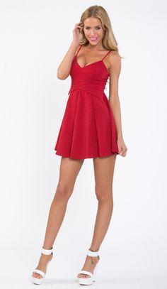 NOT SO INNOCENT DRESS IN RED http://www.popcherry.com.au/dress-shape/