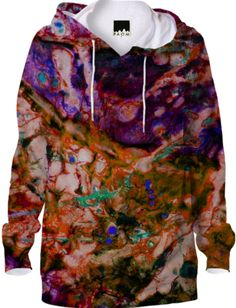 0000000P/Color Me Hoodie Purple