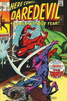 Daredevil # 59 by Gene Colan & Syd Shores