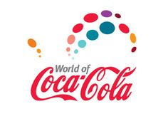 World of Coke logo design