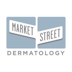 Logo for Market Street Dermatology. angelbomb.com