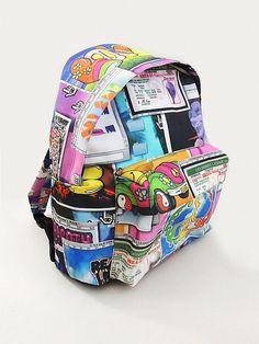 Jeremy Scott Screensaver Backpack