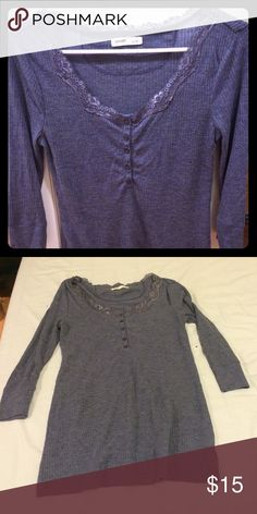 Top It's light weight with elbow length sleeves. Old Navy Tops Blouses