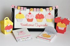 New Tiny Treasures Cricut Cartridge Projects - Creative Memories Traditional 411 Blog Cute idea for a baby shower or to welcome the new baby
