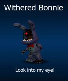 FNaF World Withered Bonnie!