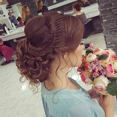 Hairstyles woman New: 10 pictures hairstyles that sublime this season Frisuren Frau Neu: 10 Bilder F Quince Hairstyles, Wedding Bun Hairstyles, Chic Hairstyles, Hairstyles 2018, Updo Hairstyle, Latest Hairstyles, Hairstyle Photos, Woman Hairstyles, Fashion Hairstyles