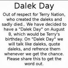 Dalek Day