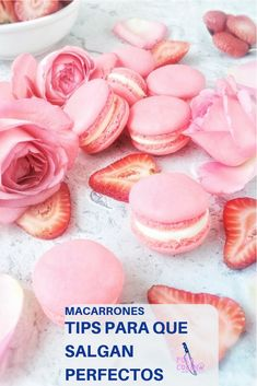 Cómo hacer macarrones perfectos paso a paso Macaron Cookies, Macaroons, Fancy Desserts, Delicious Desserts, Sugar Cookie Royal Icing, Summer Salads With Fruit, Macaroon Recipes, Crazy Cakes, Pastry And Bakery