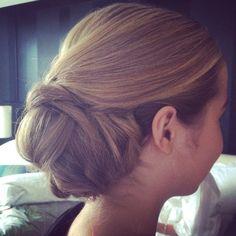 Love this wedding hair by Runway Room!