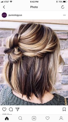 "51 Gorgeous Hair Color Worth To Try This Season ""balayage hair color, light brown hair color ideas, hair colours 2019 hair color trends, best hair color for fall hair colors best hair color for hair color ideas for brunettes, light brown hair Gorgeous Hair Color, Cool Hair Color, Modern Short Hairstyles, Cool Hairstyles, Hairstyle Ideas, Short Summer Hairstyles, Hairstyle Pictures, Brunette Hairstyles, Trendy Haircuts"