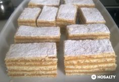 Hungarian Cake, Hungarian Recipes, Cake Recipes, Dessert Recipes, Cooking Recipes, Healthy Recipes, Winter Food, Food To Make, Delicious Desserts