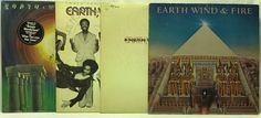 Earth Wind & Fire LP #Vinyl Record Lot All N All + Gratitude + I Am + That's the