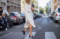 Paris Fashion Week Street Style, Day 1 via @WhoWhatWear