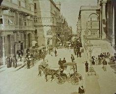 Strada Reale Valletta Malta circa 1890s